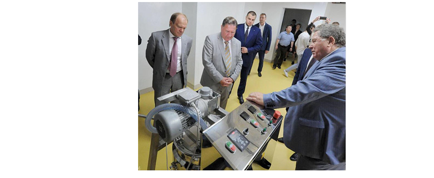September 2, 2016 the governor of Kursk Oblast' Mikhailov A.N. visited our construction sites